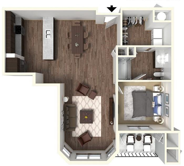 Floor Plans | Apartments in Liberty MO